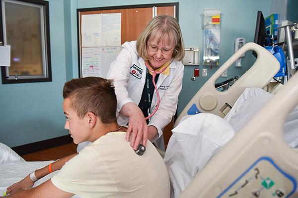 UAB - School of Nursing - News - Landier makes advancing